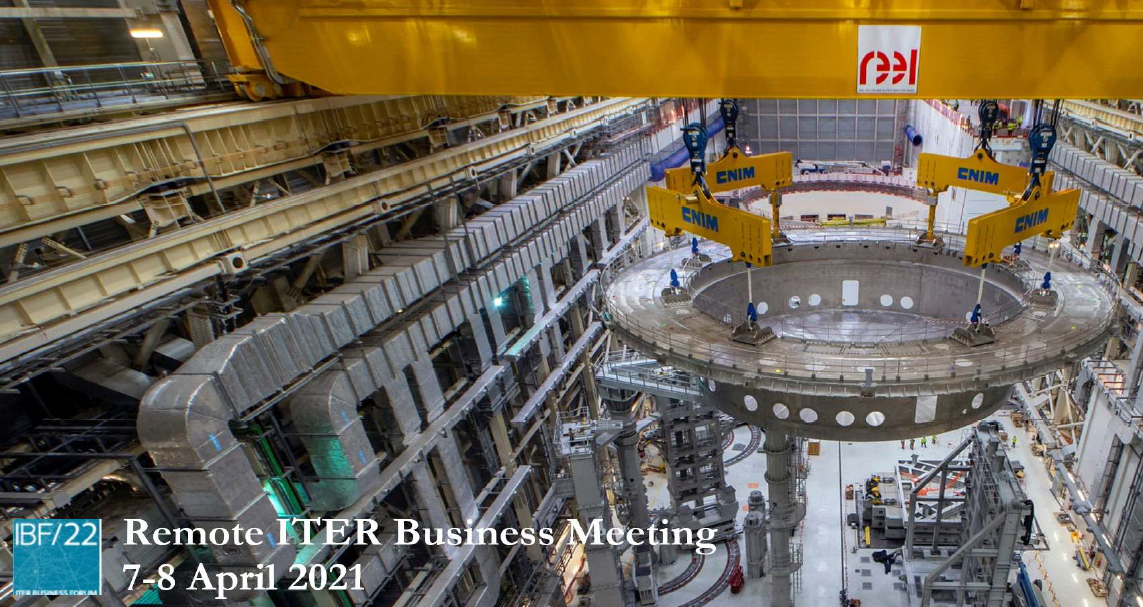 Remote ITER Business Meeting(6-7 April 2021) 썸네일 사진